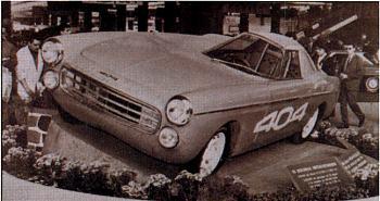 1965 Peugeot 404 Coupe Diesel