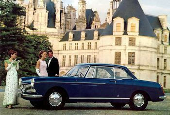 1966 Peugeot 404 Coupe