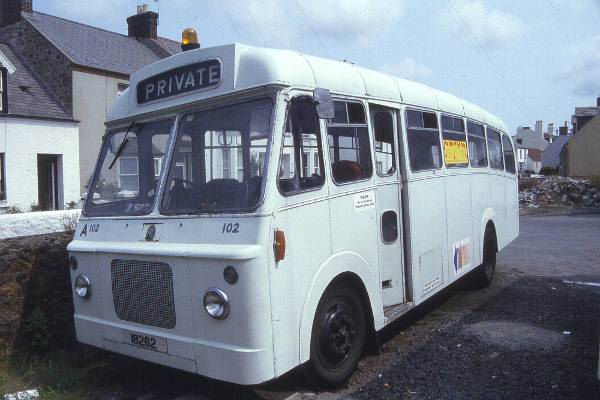 1967 Bedford J4EZ1 with Reading bodywork gu102