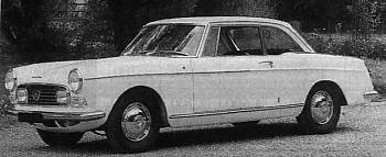 1967 Peugeot 404 Coupe