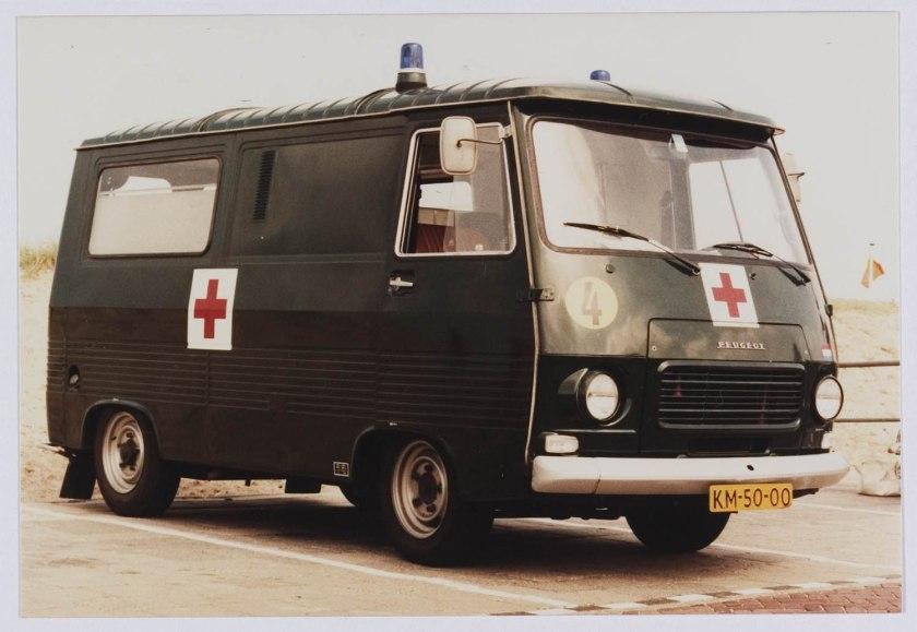 1967 Peugeot J7 KM 50-00