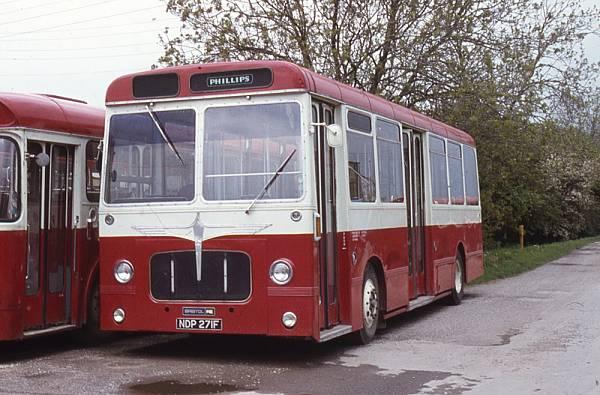 1968 Bristol RELL6G with Pennine B34D bodywork