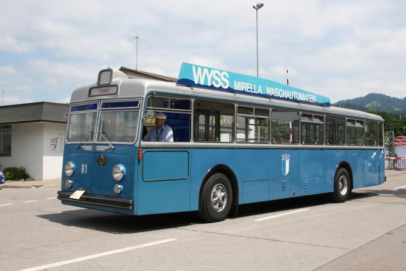 1968 FBW B71U van de Verkehrsbetriebe Luzern