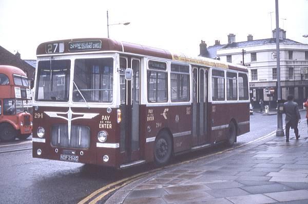 1968 Pennine bodied Bristol RESLs. 288a