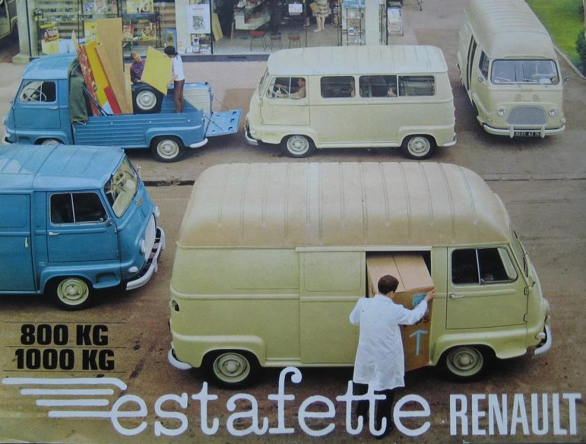 1968 Renault Estafette ad
