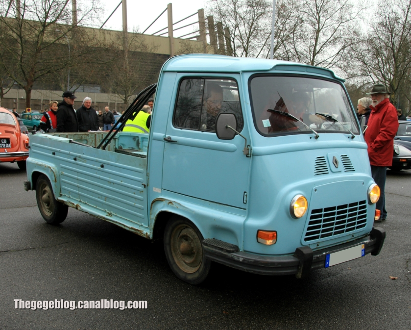 1968 Renault estafette pick up