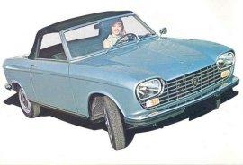 1969 Peugeot 204 Cabrio