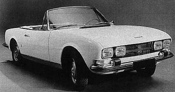 1969 peugeot 504 cabrio