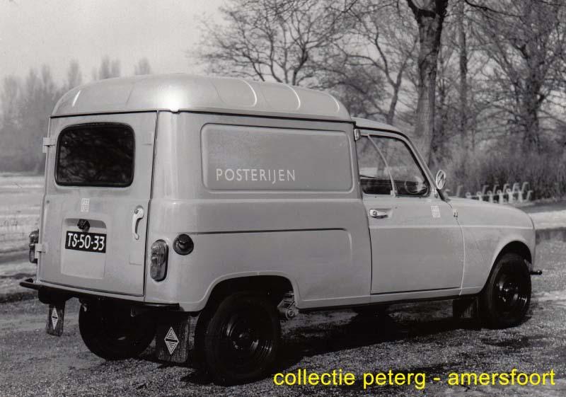 1969 Renault 4  Bestel PTT