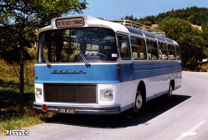 1969 Saviem SC5P