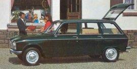 1970 Peugeot 204 Wagon