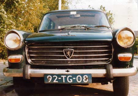 1970 Peugeot 404 u