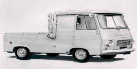 1970 Peugeot J7 Pickup