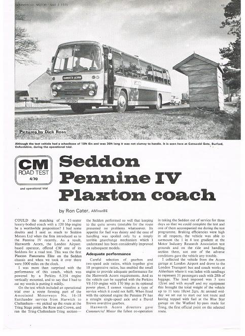 1970 PLAXTONS Pennine IV op SEDDON