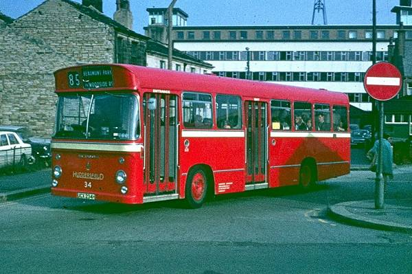 1970 Seddon Pennine RU with a Pennine Coachcraft B43D body