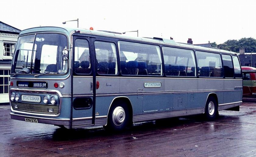 1971 AEC 6U3ZR Reliance with Plaxton Panorama Elite C30F body