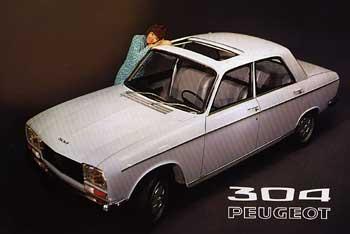 1971 peugeot 304