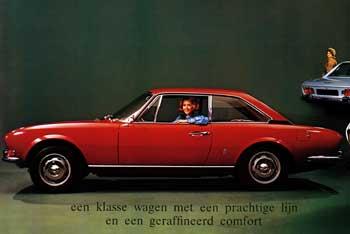 1971 peugeot 504 coupé a