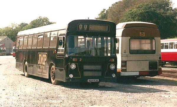 1972 Leyland Panthers built it carries a Seddon body