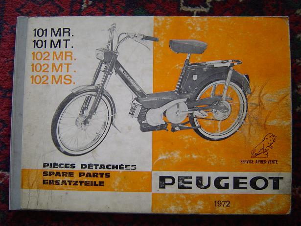 1972 peugeot 101mr mt 102 mr mt ms 1972 4-4-12