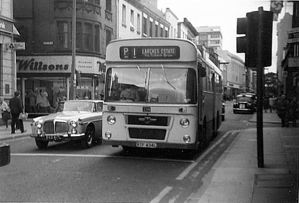 1972 Seddon bodied Leyland Panther