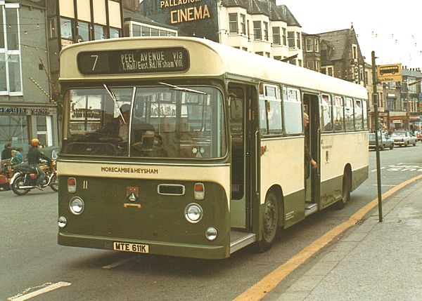 1972 Seddon RU with Seddon dual entrance bus body seating 46