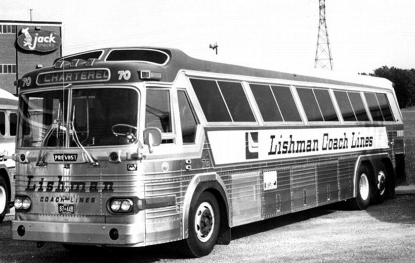 1973 Prevost Lishman-Bus