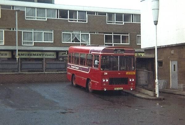 1973 Seddon Pennine midi buses