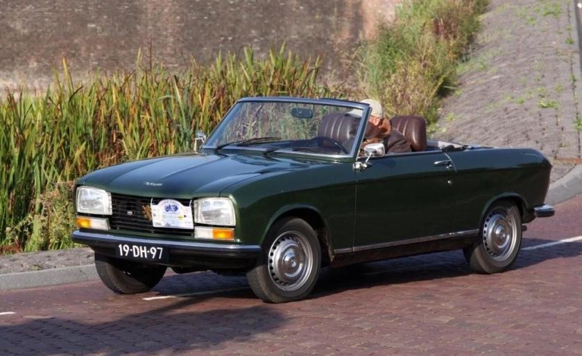 1974 Peugeot 304 Cabriolet S 19-DH-97