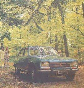 1974 Peugeot 504 TI