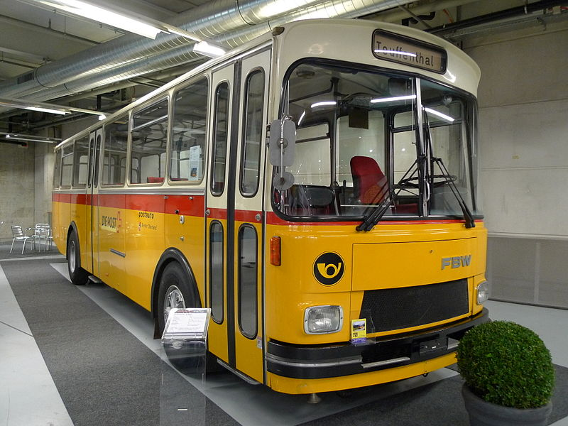1975 FBW Ramseier & Jenzer Postauto 50 U