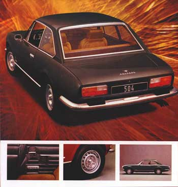 1975 peugeot 504 coupé a