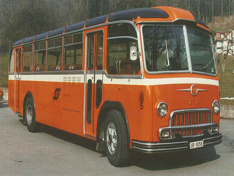 1976 Autobus FBW