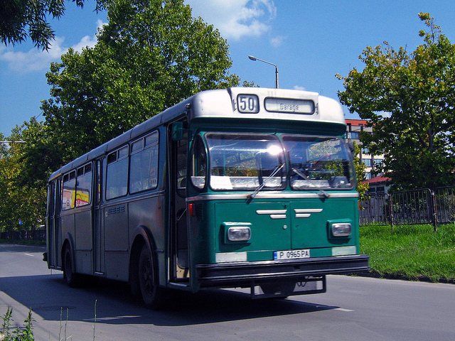 1976 FBW B51 Bus Bulgarije