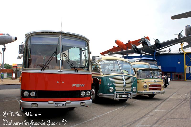 1976 FBW-Ramseier & Jenzer 50 U von 1976 + 1951 Saurer-Ramseier & Jenzer 3 C-H