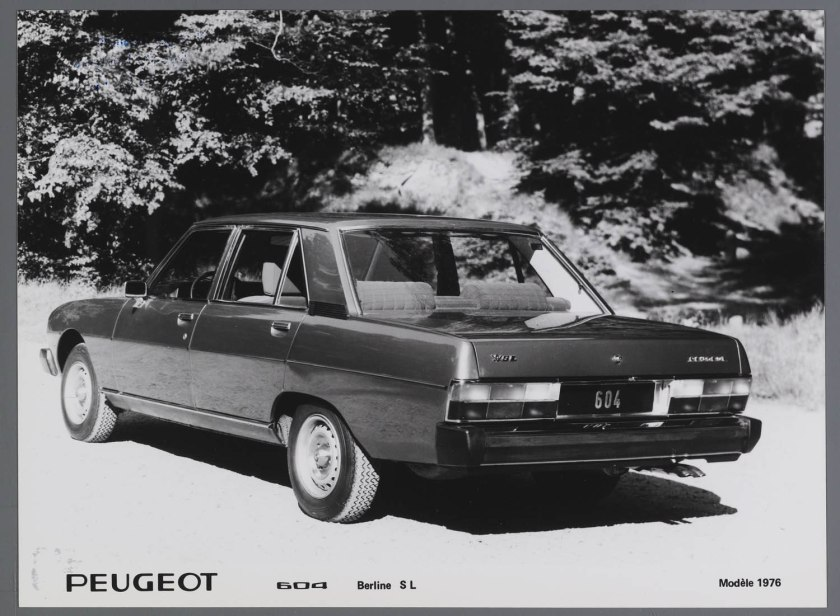 1976 Peugeot 604 Berline L