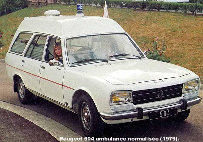 1979 Peugeot 504 amb norm AVD