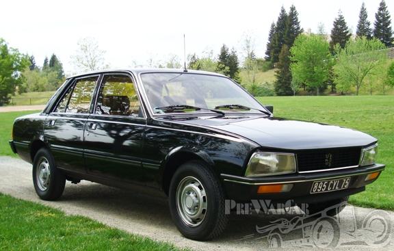 1980 Peugeot 505 Sedan