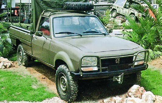 1982 Peugeot-504 Dangel, 4x4
