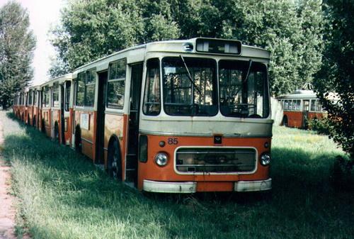 1985 Fiat 409, però con carrozzeria Portesi