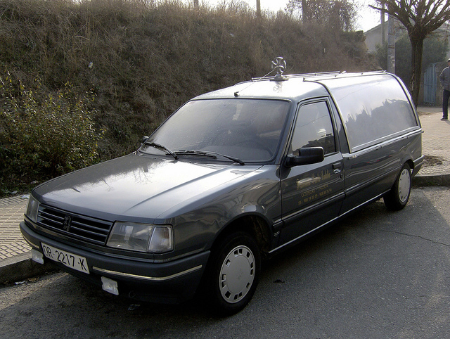 1989 Peugeot 309 Hearse