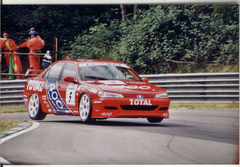 1996 Peugeot Tim Harvey BTCC