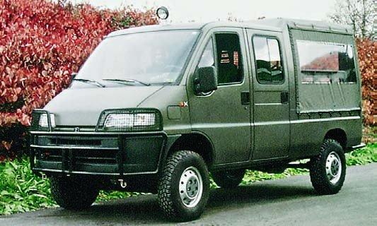 1998 Peugeot Boxer-350М, 4x4