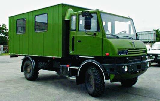 2002 Praga Alfa TN, 4x4