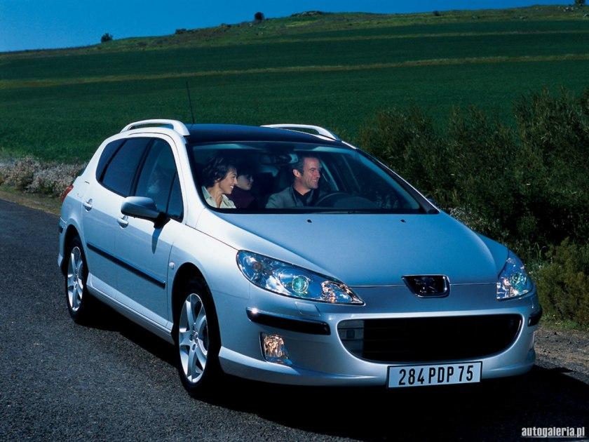 2003 peugeot 407 sw