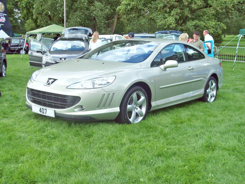 2006-on Peugeot 407 Coupe