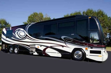 2007 prevost liberty h3 45 elegant lady double slide