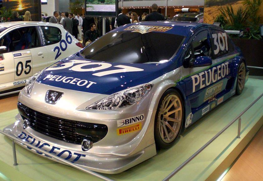 2007 Stock Car V8 Brasil Peugeot 307_concept