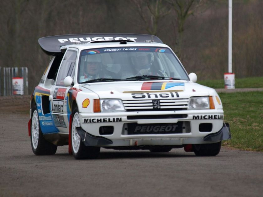 2008 Peugeot 205 Turbo 16 - Race Retro