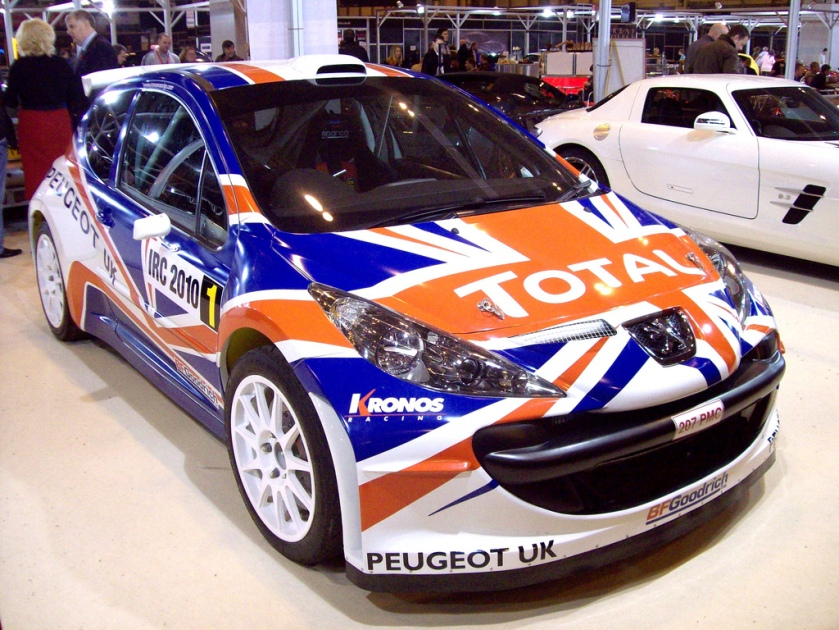 2010 Peugeot 207 IRC Super 2000 Evolution Engine 2.0ltr